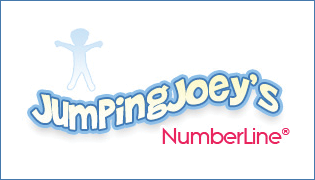 Jumping Joey's Number Line is a fun, easy way to learn math.