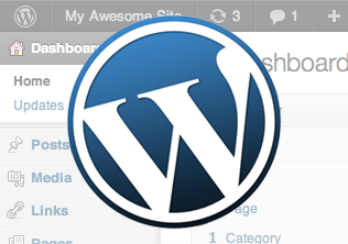 WordPress is a great tool for getting sites of any size up onto the web quickly.